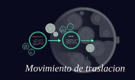 Copy of Movimiento de la tierra