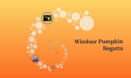 The Windsor Pumpkin Regatta is an annual water race held in