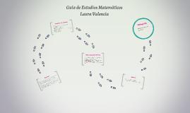 Guía de Estudios Matemáticos