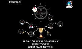 "PREMIO ""PRINCESA DE ASTURIAS"""