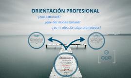 ORIENTACION PROFESIONAL