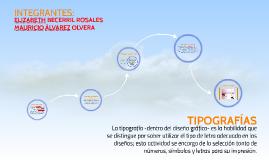 TIPOGRAFÍAS LINEALES