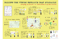 Making the whole research map available: bringing multimedia and interactivity to policy research