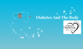 Diabetes And The Body