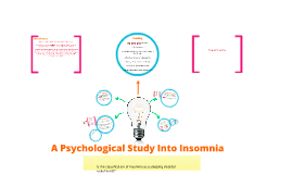 Insomnia Case Study