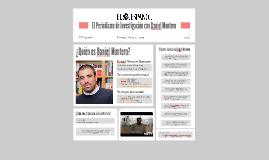 El Periodismo de Investigación con Daniel Montero: El Españo