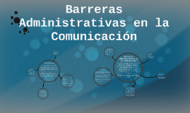 Copy of Barreras Administrativas en la Comunicación