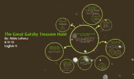 The Great Gatsby Treasure Hunt