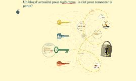 Un blog d' actualité pour 4uCampus,  la clef du succès?