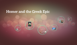Homer and the Greek Epic
