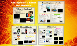 Geology Unit 1