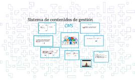 Sistema de contenidos de gestión