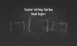 Teacher Writing Tool Box