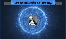 Ley de Inducción de Faraday.