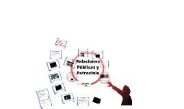 Herramientas de Comunicación de Marketing - Relaciónes Públicas y Patrocinio