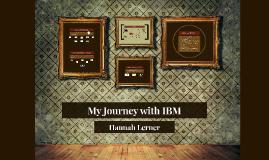 My Journey with IBM