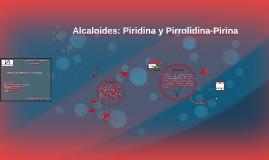 Alcaloides: Piridina