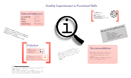 Quality Improvement in Functional Skills