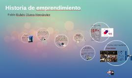 Historia de emprendimiento