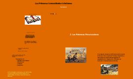 Copy of Las primeras comunidades cristianas