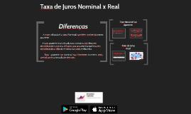 CPA 20 - Aula 21 - Taxa de Juros Nominal e Juros Real