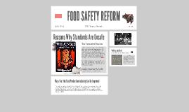 Food Safety Prezi : U.S. History