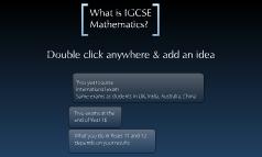 Year 9 IGCSE course 2