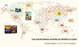 Los movimientos sociales en América Latina