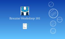 HU Nursing Resume 101