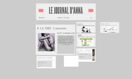 LE JOURNAL D'ANNA