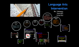 Language Arts Intervention Welcome