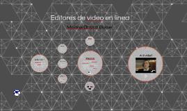 Editores de video en línea
