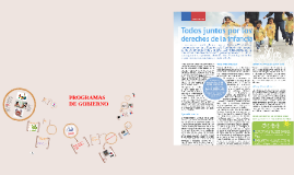 Copy of PROGRAMAS DE GOBIERNO