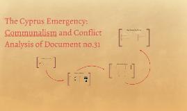 Cyprus Emergency 1956