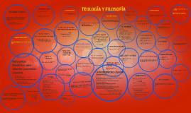 TEOLOGÍA Y FILOSOFÍA