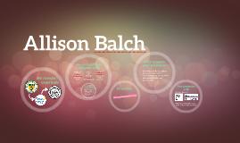 Allison Balch