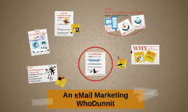 An eMail Marketing WhoDunnit