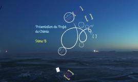 Présentation Projet Chimie (9eB)