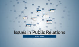 Issues in Public Relations
