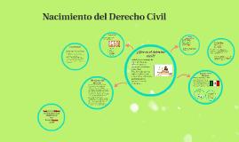 Nacimiento del derecho civil