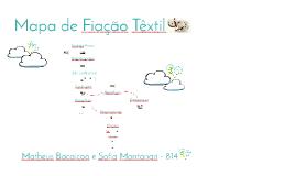 Mapa de Fiação Têxtil