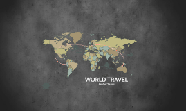 Copy of WORLD TRAVEL