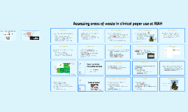Assessing clinical paper waste in RJAH