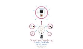 Cognitive Coaching: