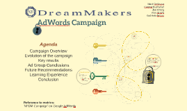 NF DreamMakers AdWords Challenge