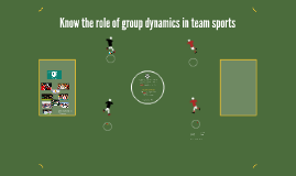 Know the role of group dynamics in teams sport