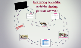 Measuring variables during physical activity in science