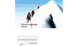 FIJACIÓN DE OBJETIVOS