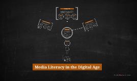 Media Literacy in the Digital Age