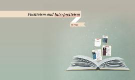 Copy of Positivism and Interpretivism